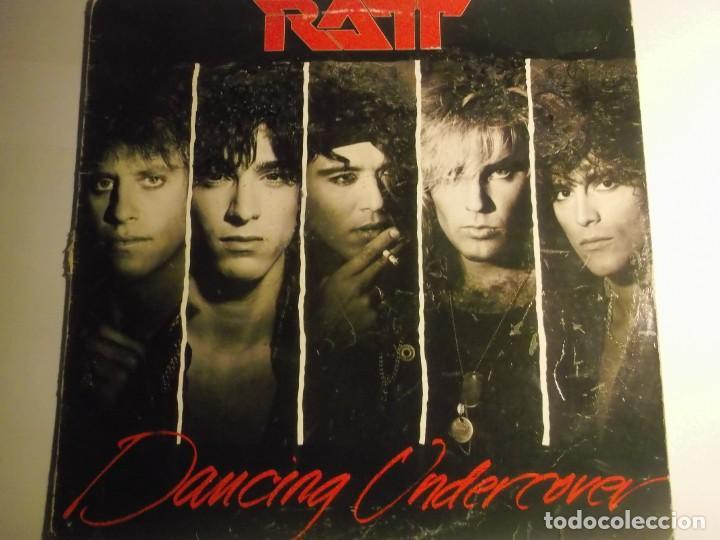 RATT-DANCING UNDERCOVER-ORIGINAL ESPAÑOL-CONTIENE ENCARTE (Música - Discos - LP Vinilo - Heavy - Metal)