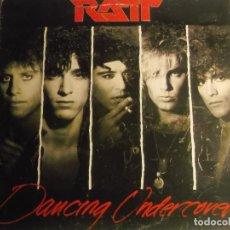 Discos de vinilo: RATT-DANCING UNDERCOVER-ORIGINAL ESPAÑOL-CONTIENE ENCARTE. Lote 191110452