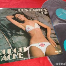 Discos de vinilo: RUDOLF PACHE LOS EXITOS DE RUDOLF PACHE VOL.1 2LP 1975 RCA GATEFOLD SPAIN SEXY NUDE COVER. Lote 191122583
