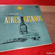 Discos de vinilo: RUSS CASE Y SU ORQUESTA AIRES GITANOS LP 1975 RCA SPAIN. Lote 191122666
