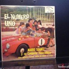 Discos de vinilo: MARIO SUAREZ Y SU CONJUNTO - AHORA + 3 RARO EP DE 1961 SPAIN. NUEVO A ESTRENAR (NEW). Lote 191131111