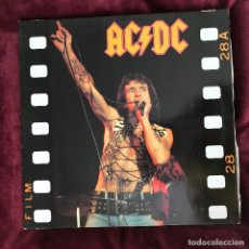 Discos de vinilo: AC/DC - LIVING IN THE HELL - LP DOBLE FLASHBACK 1991 - LIVE TOWSON, MARYLAND 1979. Lote 191137507