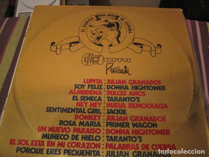 LP EL SONIDO MAS JOVEN DE ESPAÑA RECOPILATORIO GUITARRA 18171 MOVIEPLAY SPAIN 1970 (Música - Discos - LP Vinilo - Grupos Españoles 50 y 60)