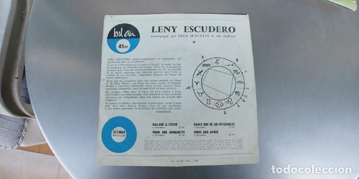 Discos de vinilo: LENY ESCUDERO-EP BALLADE A SYLVIE +3 - Foto 2 - 191148565