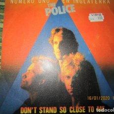 Discos de vinilo: THE POLICE - DON´T STAND SO CLOSE TO ME / FRIENDS SINGLE ORIGINAL ESPAÑOL - A&M RECORDS 1980. Lote 191148618