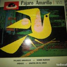 Discos de vinilo: LOS PLAYBOYS - PAJARO AMARILLO EP - ORIGINAL ESPAÑOL - POLYDOR RECORDS 1961 - HI FI MONOAURAL. Lote 191151556
