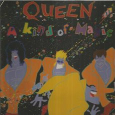 Discos de vinilo: QUEEN KIND OF MAGIC. Lote 191152117