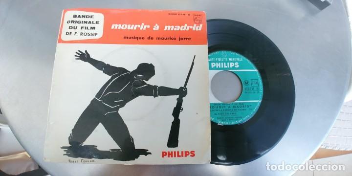MOURIR A MADRID-EP BSO DEL FILM (Música - Discos de Vinilo - EPs - Bandas Sonoras y Actores)