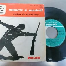 Discos de vinilo: MOURIR A MADRID-EP BSO DEL FILM . Lote 191153831