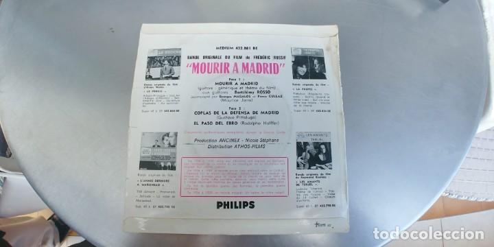 Discos de vinilo: MOURIR A MADRID-EP BSO DEL FILM - Foto 2 - 191153831