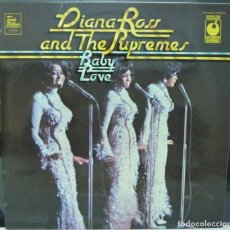 Discos de vinilo: DIANA ROSS AND THE SUPREMES // BABY LOVE // MADE IN ENGLAND // (VG VG). LP. Lote 191155158