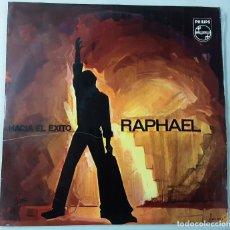 Discos de vinilo: RAPHAEL HACIAEL ÉXITO, PRIMER LP PHILIPS 1967. Lote 191155936
