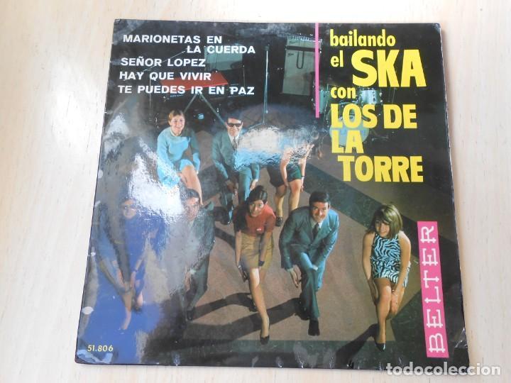 DE LA TORRE, LOS - BAILANDO EL SKA -, EP, MARIONETAS EN LA CUERDA + 3, AÑO 1967 (Música - Discos de Vinilo - EPs - Grupos Españoles 50 y 60)