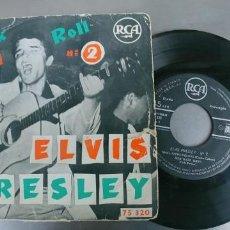 Discos de vinilo: ELVIS PRESLEY-EP ROCK AND ROLL Nº 2. Lote 191173600