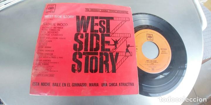 WEST SIDE STORY-EP BSO DEL FILM (Música - Discos de Vinilo - EPs - Bandas Sonoras y Actores)