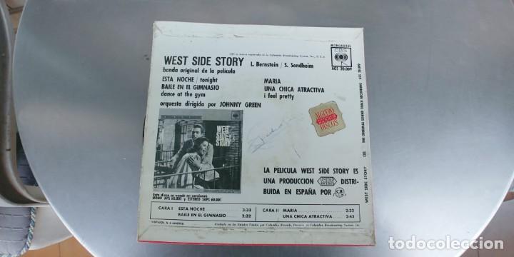 Discos de vinilo: WEST SIDE STORY-EP BSO DEL FILM - Foto 2 - 191174322