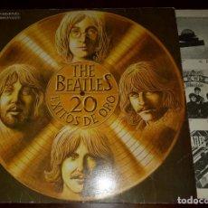 Discos de vinilo: BEATLES - 2O EXITOS DE ORO - LP - 1979 - CON ENCARTE. Lote 191174513