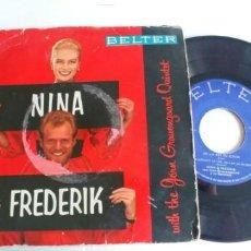 Discos de vinilo: NINA & FREDERIK-EP NOVECIENTAS MILLAS +3. Lote 191174566