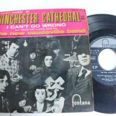 Discos de vinilo: THE NEW VAUDEVILLE BAND-EP WINCHESTER CATHEDRAL +3. Lote 191176111
