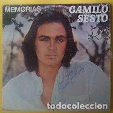 Discos de vinilo: CAMILO SESTO – MEMORIAS. Lote 191180233