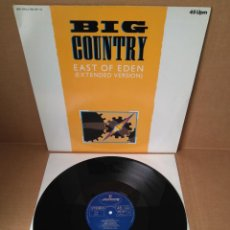 Discos de vinilo: BIG COUNTRY - EAST OF EDEN (EXTENDED VERSION) / MAXI SINGLE IMPORT GERMANY TEMAZOS POP ROCK. Lote 191184236