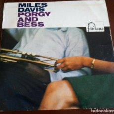 Discos de vinilo: MILES DAVIS - PORGY AND BESS - LP - HOLLAND. Lote 191184392