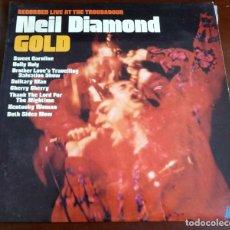 Disques de vinyle: NEIL DIAMOND - GOLD - LP - 1970 - USA. Lote 191184696
