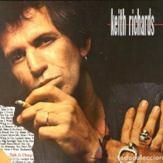 Discos de vinilo: KEITH RICHARDS TALK IS CHEAP LP . THE ROLLING STONES X-PENSIVE WINOS ROCK. Lote 191194672