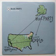 Discos de vinilo: BLOC PARTY-HELICOPTER (12''.DIM MAK.2006) ART PUNK. COLABORA PEACHES. SIMILAR FRANZ FERDINAND. Lote 191194961