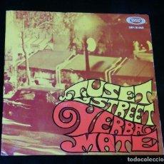 Discos de vinilo: YERBA-MATE (TUSET STREET / PEPA / ROYAL GARDEN BLUES / CUANDO LOS SANTOS VIENEN MARCHANDO). Lote 191198852