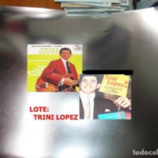 Discos de vinilo: TRINI LOPEZ - LOTE 2 VINILOS. Lote 191204115
