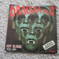 Discos de vinilo: LP. DRACULA & C. HOT BLOOD.. Lote 191204533