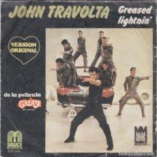 Discos de vinilo: JOHN TRAVOLTA,GREASED LIGHTNIN DEL 78. Lote 191204673