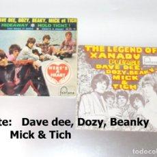 Discos de vinilo: DAVE, DEE, DOZY, BEANKY, MICK AND TICH ----- LOTE DE 2 VINILOS. Lote 191205832