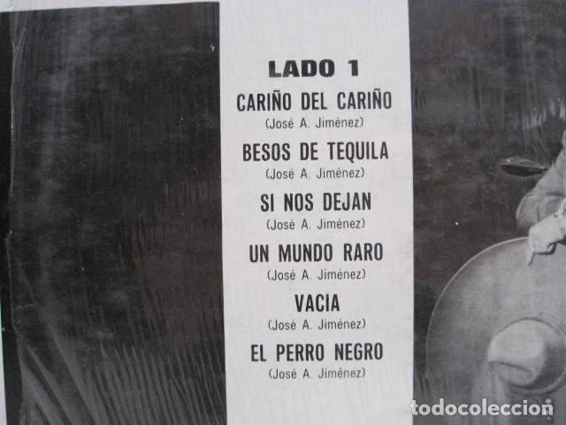 Discos de vinilo: LP VINILO CARIÑO DEL CARIÑO. JOSE ALFREDO JIMENEZ. 12 CANCIONES. 1968. EL PERRO NEGRO, UN MUNDO RARO - Foto 3 - 191205881