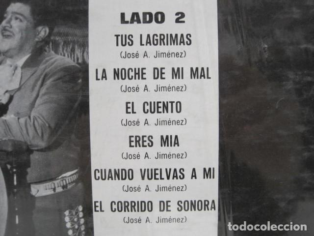 Discos de vinilo: LP VINILO CARIÑO DEL CARIÑO. JOSE ALFREDO JIMENEZ. 12 CANCIONES. 1968. EL PERRO NEGRO, UN MUNDO RARO - Foto 4 - 191205881