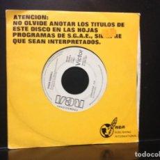 Discos de vinilo: JOAQUIN CARBONEL - DEJEN PASAR / SINGLE 7' DE VINILO PROMOCIONAL ESPAÑOL 1990.NM-NM. Lote 191207128