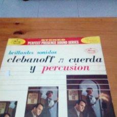 Discos de vinilo: CLEBANOFF CUERDA Y PERCUSION. C9V. Lote 191208220