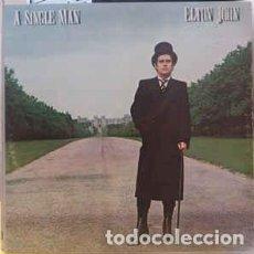 Discos de vinilo: ELTON JOHN – A SINGLE MAN . Lote 191208921