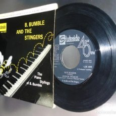 Discos de vinilo: B.BUMBLE AND THE STINGERS--- NUT ROKER & BOOGIE BOOGIE & NEAR YOU & ORIGINAL AÑO 1963-- ( VG++ ). Lote 191209311