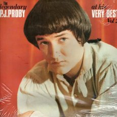 Discos de vinilo: P J PROBY. LP. AT HIS VERY BEST VOL 2. Lote 191210027
