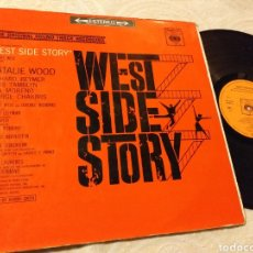 Discos de vinilo: WEST SIDE STORY CBS 1962 THE ORIGINAL SOUND TRACK RECORDING. Lote 191212690