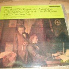 Discos de vinilo: SERIE GRAN DIFUSION-SCHUBERT-WAGNER-LISZT. Lote 191212972