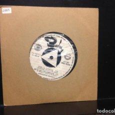 Discos de vinilo: PHILIPPE MONET - TU VIENS DE CHANCER LE MONDE + 3 (GARAGE, YE-YE) 7' VINYL PROMO SPAIN 1967. NM-NM. Lote 191214237