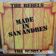 Discos de vinilo: THE REBELS – MADE IN SAN ANDRES . Lote 191215871