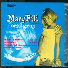 Discos de vinilo: NUMULITE S039 MARY PILI Y EL CONJUNTO ORIOL GRUP SINGLE. Lote 191216573
