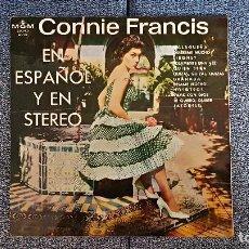 Discos de vinilo: CONNIE FRANCIS - EN ESPAÑOL - EDITADO POR M.G.M. AÑO 1.964. Lote 191218183