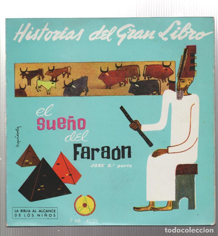 HISTORIAS DEL GRAN LIBRO-EL SUEÑO DEL FARAON (Música - Discos - Singles Vinilo - Otros estilos)