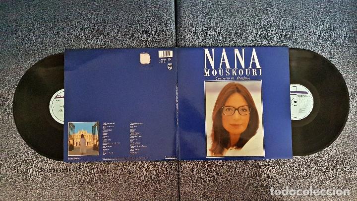 NANA MOUSKOURI - CONCIERTO EN ARANJUEZ. LP DOBLE - EDITADO POR PHILIPS. AÑO 1.989 (Música - Discos - LP Vinilo - Canción Francesa e Italiana)