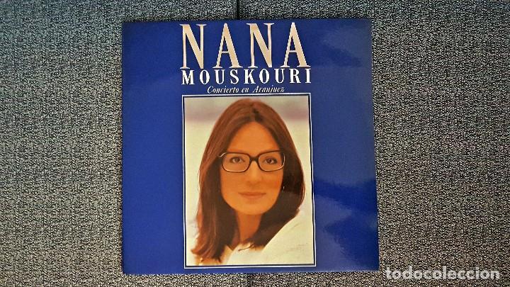Discos de vinilo: Nana Mouskouri - Concierto en Aranjuez. LP Doble - editado por Philips. año 1.989 - Foto 3 - 191224285